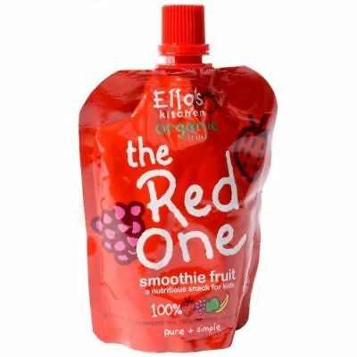 Ellas Kitchen Smoothie Fruit The Red One 90g (Pack of 12)