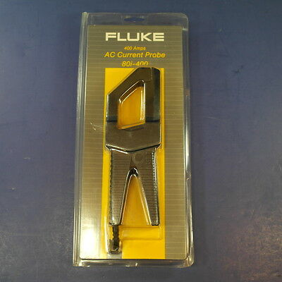 New Fluke 80i-400 AC Current Probe, Original Packaging