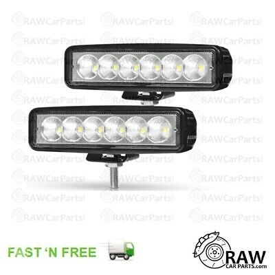 "2x 7"" Ultra Bright LED Spot Lights High Beam Fog for Road Rally (106, Saxo, 205)"