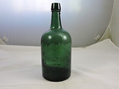 Guilford Mineral Water,guilford,vt.  Green Color