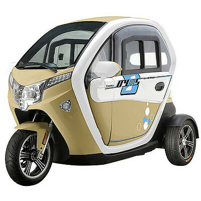 "E-Auto ""E-LORD"" NEU (Tricycle) E-Auto 45 km/h"