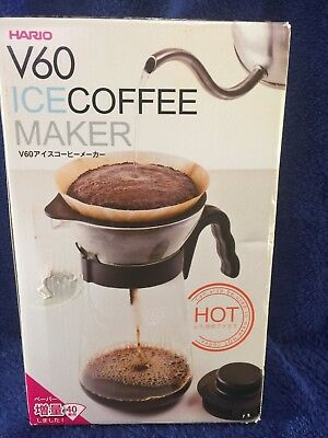 NEW! HARIO V60 ICE HOT COFFEE MAKER Drip Pour Over 700mL VIC-02B
