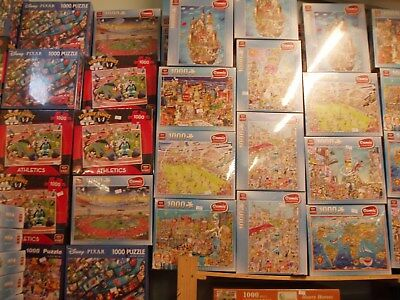 KING  Jigsaw Puzzles ADULT 1000pc /  500pc   NEW   select from drop down menu