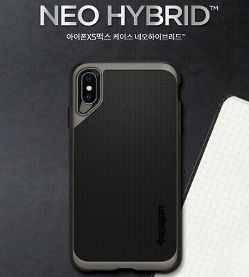 Spigen Neo Hybrid Slim Hard Bumper Protective Cover For iPhone X XS XS Max Case