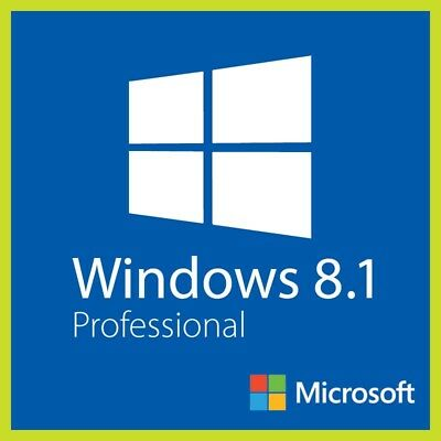 Windows 8.1 Professional Microsoft 32/64 Bit Original Key Multilingual ESD OEM