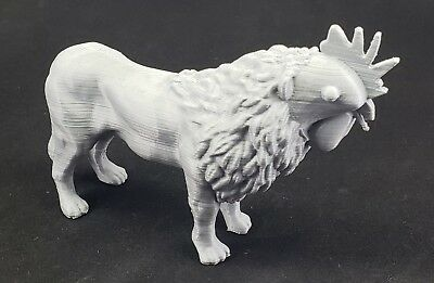 Rooster Lion 3d printed Lion Rooster