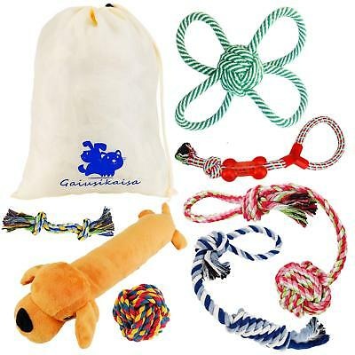 GaiusiKaisa Dog Toys Rope for Small & Medium Dogs(7 Pack Set)- Chew Toys - 10...