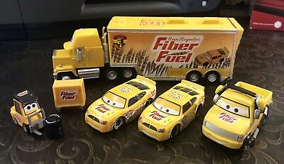 Mattel Disney Pixar Cars Team Fiber Fuel