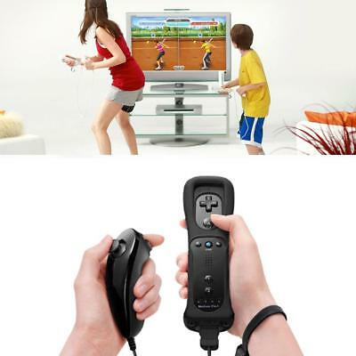 Remote Controller and Nunchuck Controller for Nintendo Wii & Wii U Console