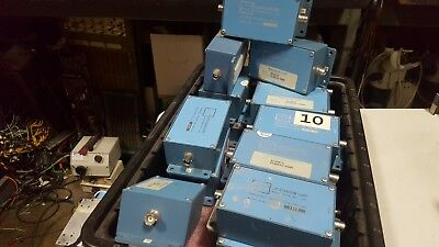 Spectracom 8140T10 8140T 10 Mhz Frequency Distribution Line Tap Unsealed