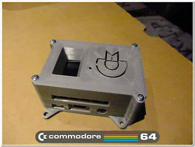 SD2IEC killer! Pi1541 Raspbery Pi emulator for Commodore 64. WITH Case and OLED!