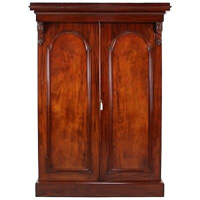 William IV Mahogany Fitted Wardrobe, Super Quality **UK delivery £120