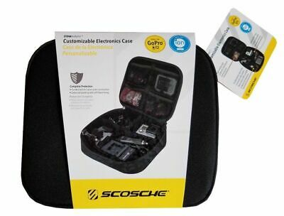 NEW Customizable Electronics Padded Travel Case for Digital Camera & Accessories