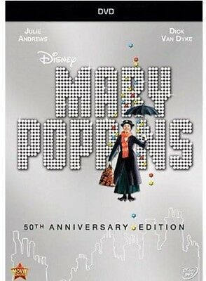 🔥Mary Poppins (50th Anniversary) (New DVD) Anniversary Edition 🔥