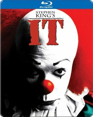 It - Best Buy Exclusive SteelBook [Blu-ray] New and Factory Sealed!!