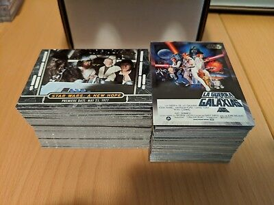 Topps Star Wars 40th Anniversary - Complete 200 Card Base Set