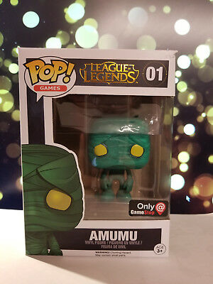 Funko Pop Games Amumu League of Legends 01 Gamestop Damaged Box