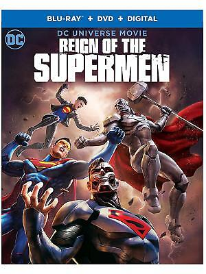 Reign Of The Supermen Blu-Ray | Dvd | New | Dc Universe Movie