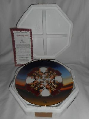 LIGHTNING ROSE Grateful Dead Stanley Mouse Hamilton Collection Plate