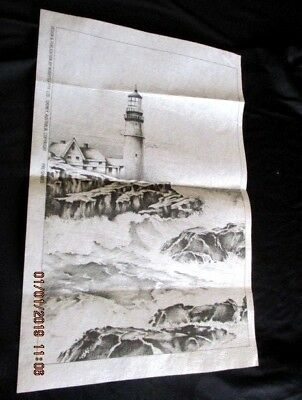 Hobbytex  Pre-Shaded *lighthouse* - Unworked - No Instructions Included