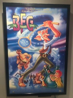 Original Vintage Movie Poster:  BFG (1989 British Animated) Approx 27 x 40