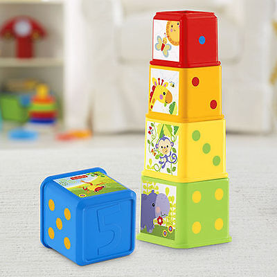 Fp Fisher Price Stack & Explore Blocks Baby Activity Toy Brand New In Box
