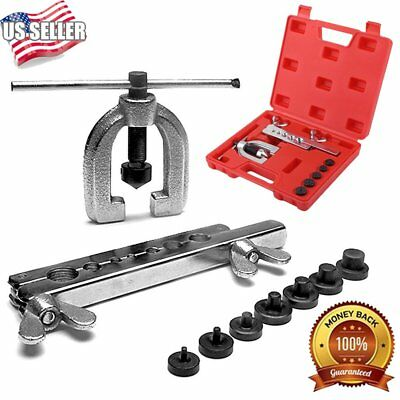 CT-2032C Double Flaring Brake Line Tool Kit With Adapters Automotive Tools MA