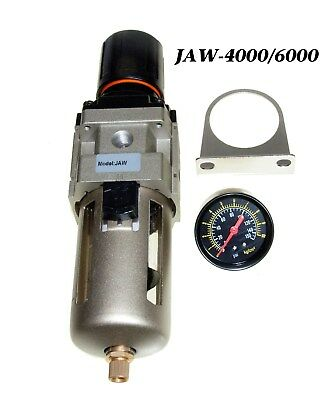 """NEW 3/4"""" Compressed Air Filter  / Pressure Regulator  with Water Trap"""