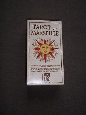 Tarot De Marseille / 78 Cartes + Livret - Notice Explicative