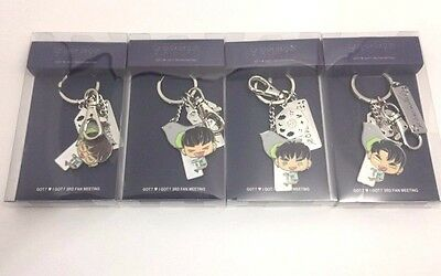 Got7  Gotoon Key Ring - I Got7 3Rd Fan Meeting - Official Goods Jyp