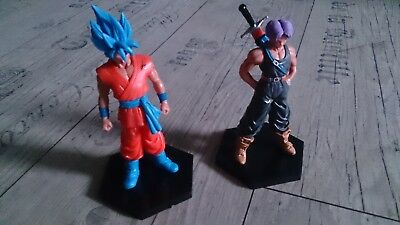 Dragonball Z Figur Figuren Aktion Manga Anime Son Goku & Set 2 Stück Neu