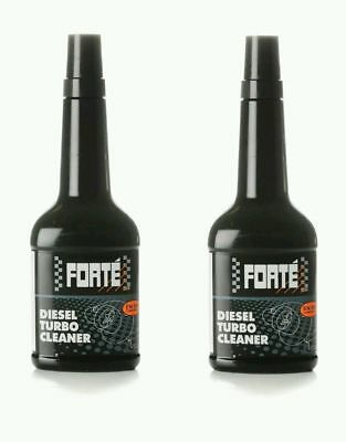 Forte Diesel Turbo Cleaner Pack (2x400ml) - Compatible With All Diesel Engines.