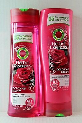 Herbal Essences Color Me Happy Color Safe Shampoo Conditioner 10 1