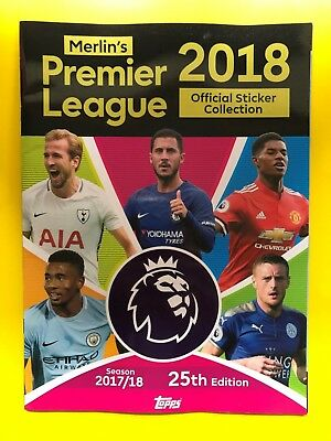 Merlin/Topps Premier League 2018 Collection - Limited Edition Stickers - CHOOSE!