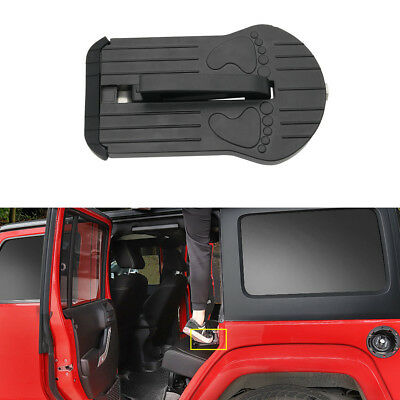 Folding Car Door Latch Hook Step Foot Pedal Ladder For Jeep SUV Truck Roof Parts
