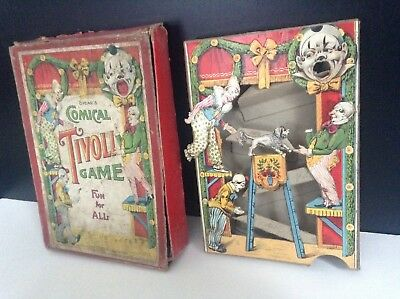 Superbe rare ancien jeu pinball Spear's Comical Tivoli Game
