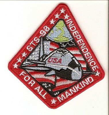 + ARMAGEDDON Aufnäher Patch Space Shuttle INDEPENDENCE Bruce Willis Cosplay