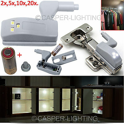 35Mm Kitchen Cabinet Closet Wardrobe Lighting Door Hinges Led Light Sensor