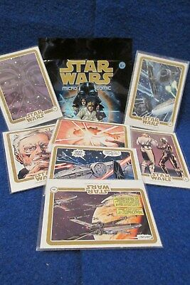 Star Wars MICRO COMIC PUZZLE CARD (Marvel & IDW) 2015 (U-Pick-1)
