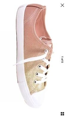 CONVERSE WOMEN CTAS Dainty Peached Canvas 553418C Sneakers UK 8 RRP ... e86f37f4f