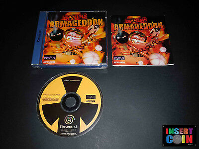 Juego Sega Dreamcast  Worms Armageddon    (Pal) German Version!