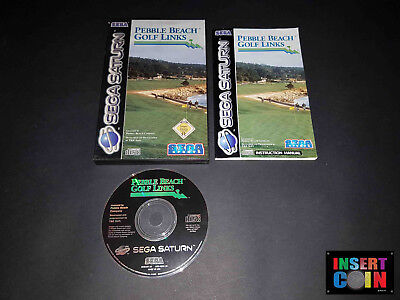 Sega Saturn Pebble Beach Golf Links 100 Eur 10 33 Picclick Fr