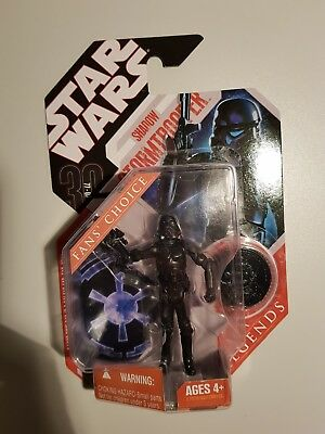 Hasbro Star Wars Shadow Trooper 30th Anniversary Action Figure Fan's Choice