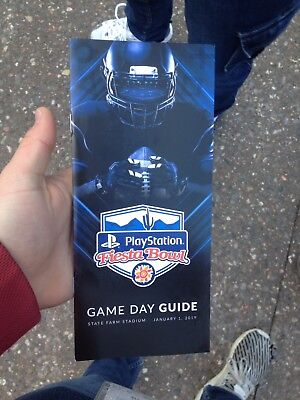 2019 Fiesta Bowl Game Day Guide  1-1-19 UCF Knights LSU Tigers Mint