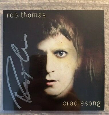 Autographed ROB THOMAS - Cradlesong CD SIGNED Beckett Ceritfied BGS Matchbox 20