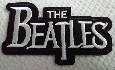 The Beatles Band Logo Embroidered Patch Music