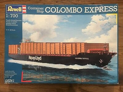 """REVELL- 1:700 scale  -  CONTAINER SHIP  """"COLOMBO EXPRESS""""  -NEW -  47,9 cm"""
