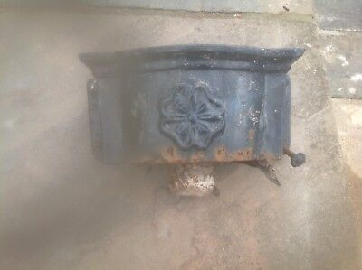 Vintage Cast Iron Drain Pipe Hopper