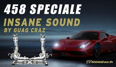 IPE Innotech F1 Exhaust FULL System for Ferrari 458 Speciale