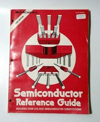 Archer Semiconductor Electronics Reference Guide 1986 Radio Shack
